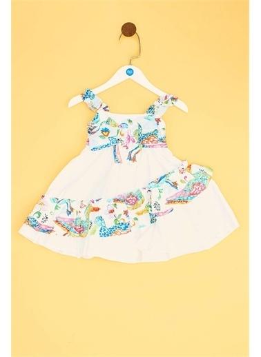 Lia Lea Lia Lea Kız Bebek Desenli Elbise 19SSLLB0169 Renkli